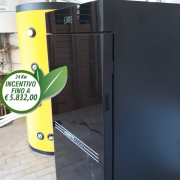 Caldaia Moretti Design Tecnika Turbo Glass 24 kW