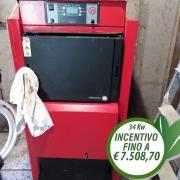 Caldaia a legna Mescoli Gaselle Evo 34 kW