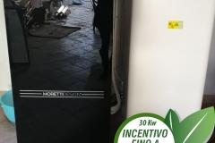 Caldaia a pellet Moretti  Design Tecnika 15