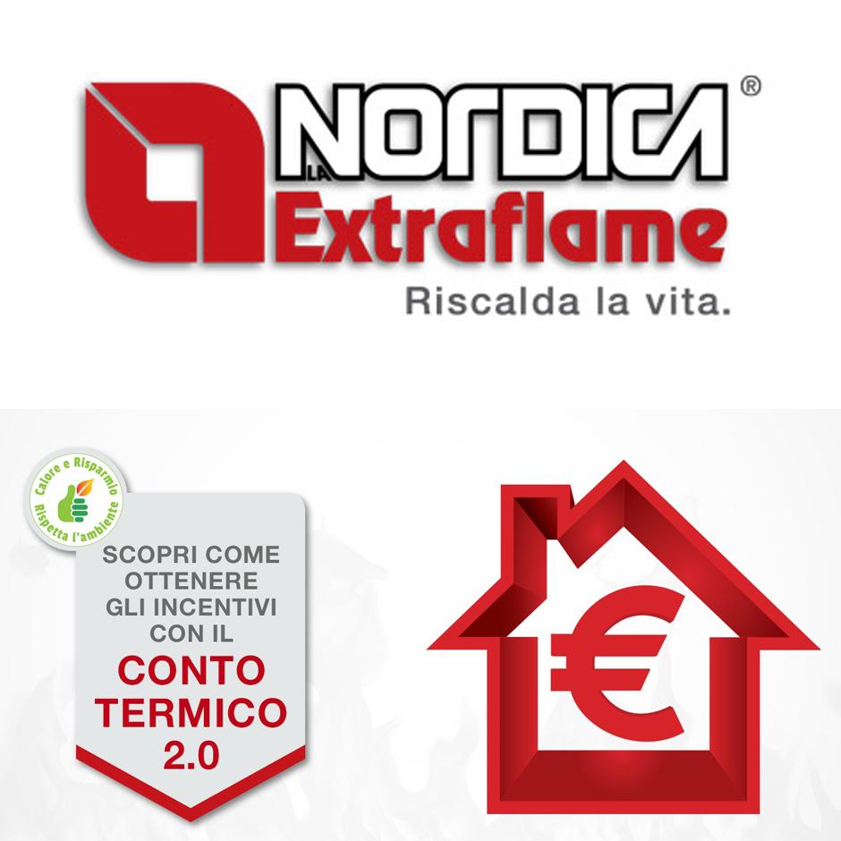 Conto termico Nordica Extraplame Iside Idro
